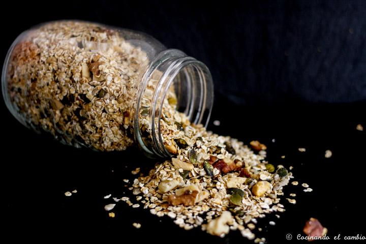 Granola sin gluten cocinando el cambio for Cocinando el cambio
