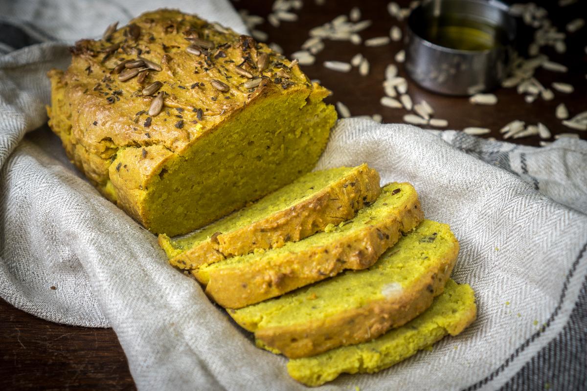 Pan sin gluten antiinflamatorio