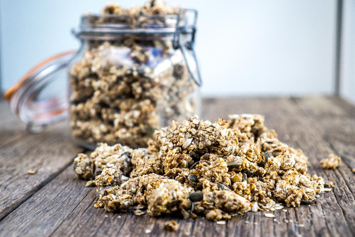 Granola de semillas