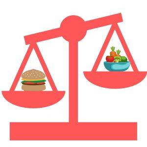 balanza de la salud