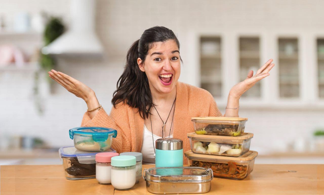 Preparaciones menú semanal usando el batch cooking