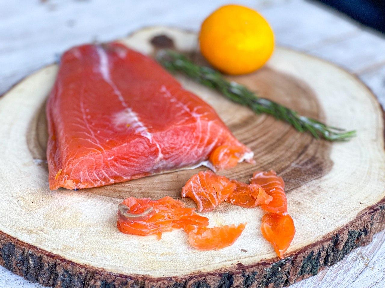 Receta de salmón marinado a la sal