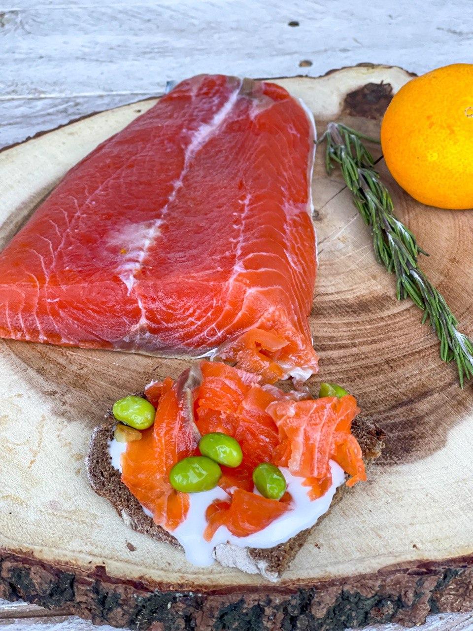 salmón salvaje sin azúcar
