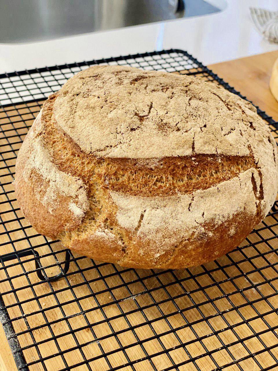 Pan sin gluten saludable sin almidón
